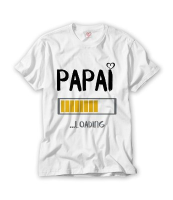 Camiseta Papai Loading