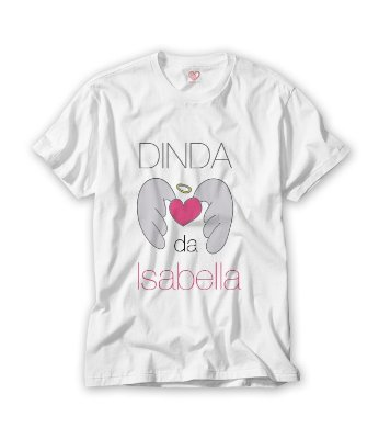 Camiseta Dinda Asas Personalizada