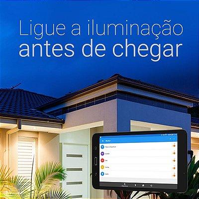 Kit Segurança Bluelux -  Central + 04 circuitos - Automação sem fios da Iluminação p/ Segurança Eletrônica