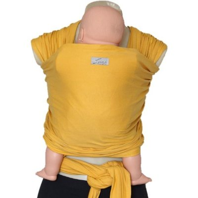 Wrap Sling Liso Amarelo