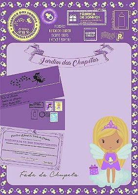 Cartinha Fada da Chupeta | com 2 brindes!