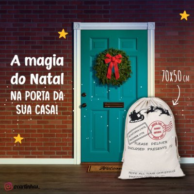 Saco do Papai Noel | Personalizado