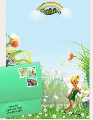 Cartinha Tinker Bell | Pozinho Mágico BRINDE!