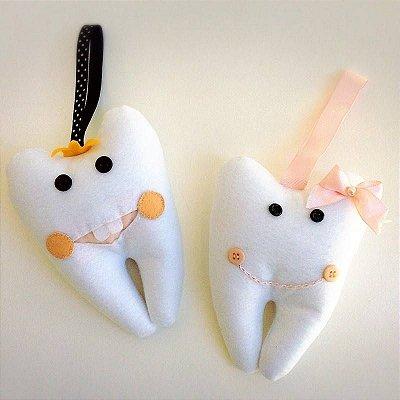 Porta Dente Feltro