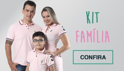 Kit Família polos