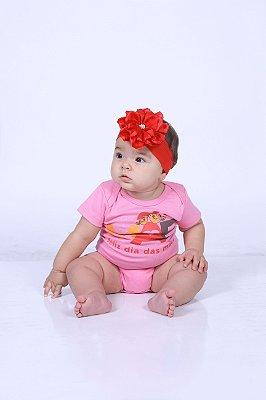 Body Infantil Feliz dia das Mães