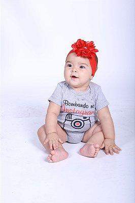 Body Infantil Bombando no Instagran