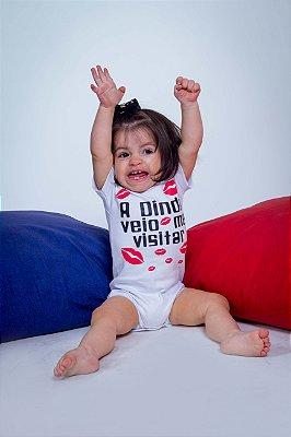 Body Infantil a Dinda Veio Me Visitar