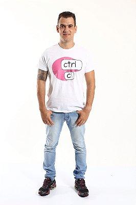 Camiseta CTRL-C Rosa
