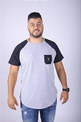 Camiseta Raglan Long Masculina