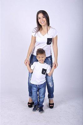 Kit Camisetas Tal Mãe Tal Filho