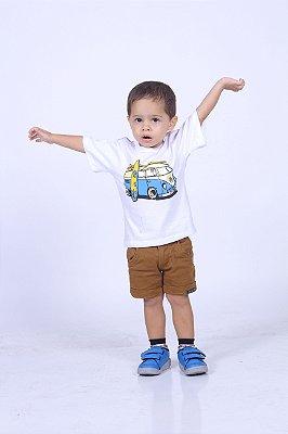 Camiseta Infantil Branca Perua