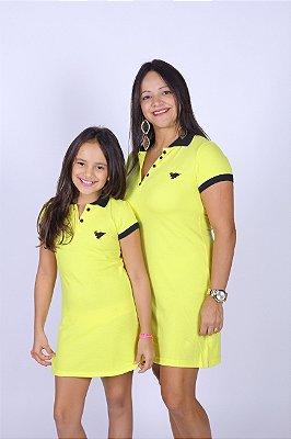 MÃE E FILHA > Kit 02 Vestidos Amarelos [Coleção Tal Mãe Tal Filha]