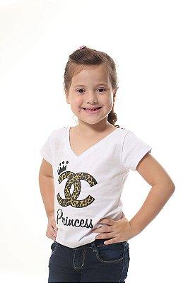 Camiseta Infantil Princesa
