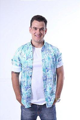 Camisa Social Tropical
