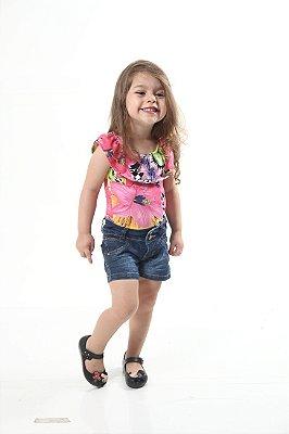 Body Feminino Infantil Ciganinha Doce