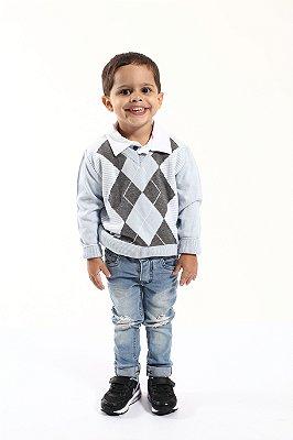 Blusa Tricot Infantil Masculina