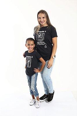 MÃE E FILHA > Kit 02 Camisetas Long Geração Z e Y [Coleção Tal Mãe Tal Filha]