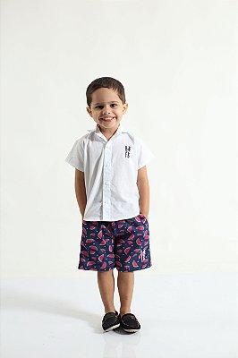 Bermuda Infantil Melancia