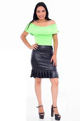 Body Feminino Adulto Neon Verde