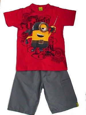 Conjunto Camiseta e Bermuda - Malwee