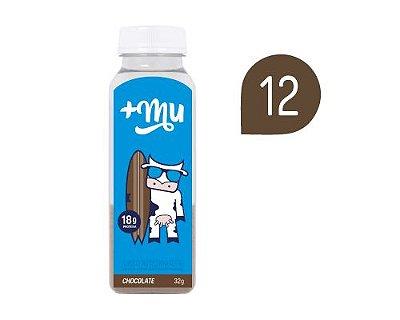 Pack 12 Garrafinhas de Chocolate Tradicional
