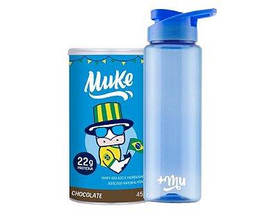 Compre 1 Pote Copa do Mundo Chocolate Muke - Ganhe 1 Coqueteleira