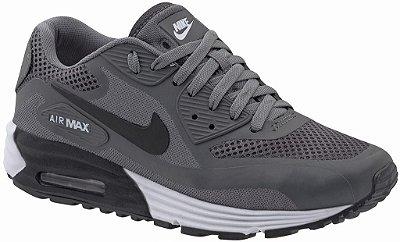 Tênis Nike Air Max 90 Lunar - Masculino - Cinza/Branco
