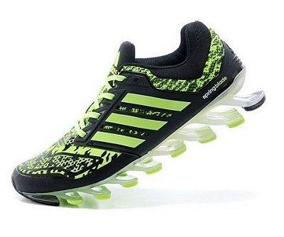 Tênis Adidas Springblade 3 - Masculino - Verde