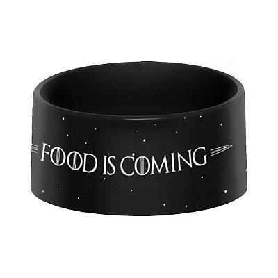 Comedouro Pet - FOOD IS COMING