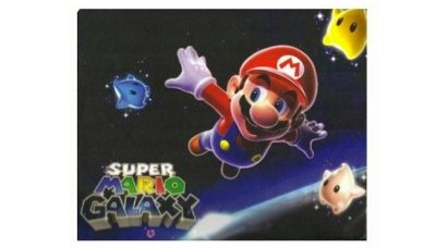 Mouse Pad MARIO BROS Galaxy