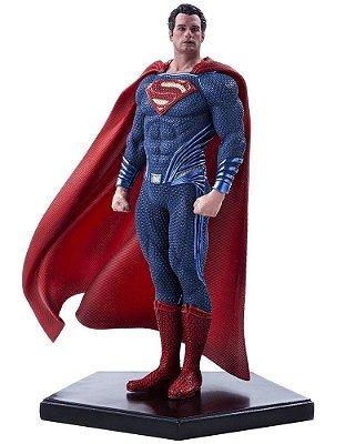 Estátua Superman 1/10 - Batman Vs Superman: Dawn Of Justice Iron Studios