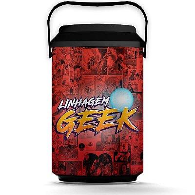 Cooler 10 Latas Linhagem Geek - Licenciado