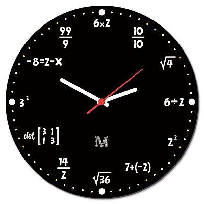 Relógio de Parede 30x30cm MANUAL DO MUNDO - Matemática