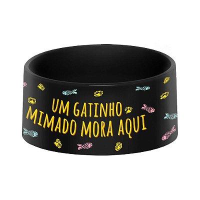 Comedouro e Bebedouro Pet - Gatinho Mimado