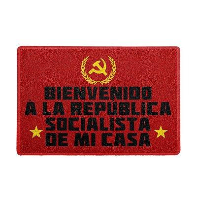 Capacho 60x40cm - Bienvenido Republica Socialista de mi casa