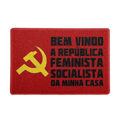 Capacho 60x40cm - Republica Feminista