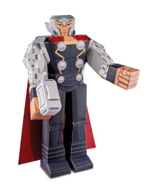 "Figura De Dobrar BluePrints Marvel Thor 12"""
