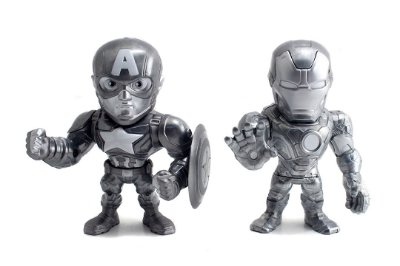 Bonecos Metal DIE CAST MARVEL Guerra Civil - Twin Pack