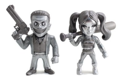 Boneco Metal DIE CAST DC COMICS Esquadrão Suicida - Twin Pack