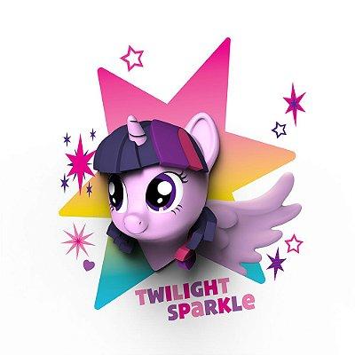 Luminária 3D Light FX My Little Pony Twilight Sparkle - MOSTRUARIO