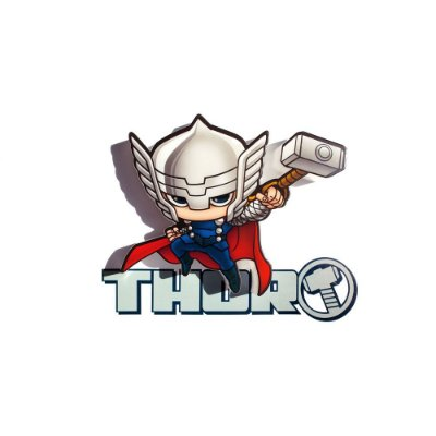 Mini Luminária 3D Light FX Vingadores Thor