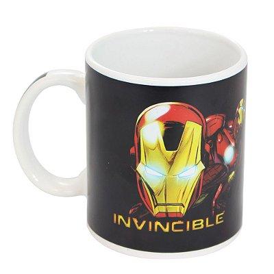 Caneca Mágica Marvel Homem de Ferro 300ml