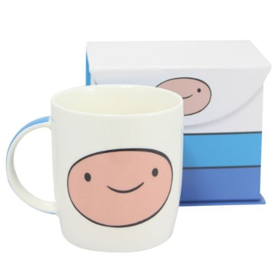 Caneca Hora De Aventura Finn Faces 320ml