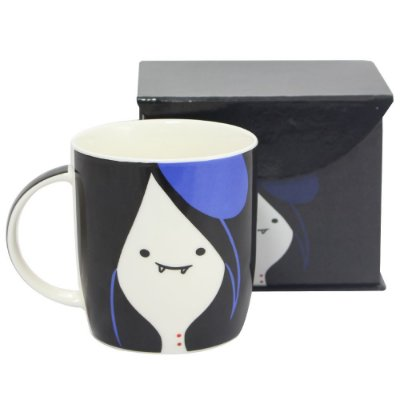 Caneca Hora De Aventura Marceline Faces 320ml