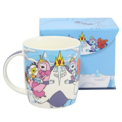 Caneca Hora De Aventura Princesas do Rei 320ml