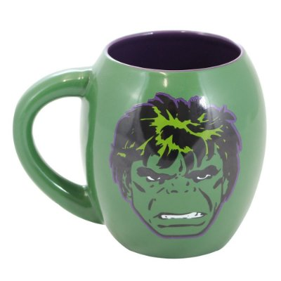 Caneca Oval Marvel Hulk 530ml