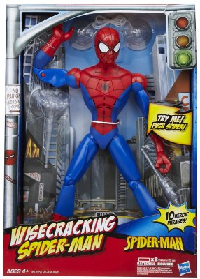 Boneco Spiderman Wisecracking