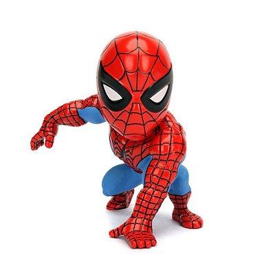 "Boneco Metal DIE CAST MARVEL SPIDERMAN Homem Aranha 4"""