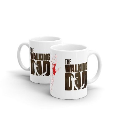 Caneca Personalizada Cerâmica THE WALKING DAD - Beek